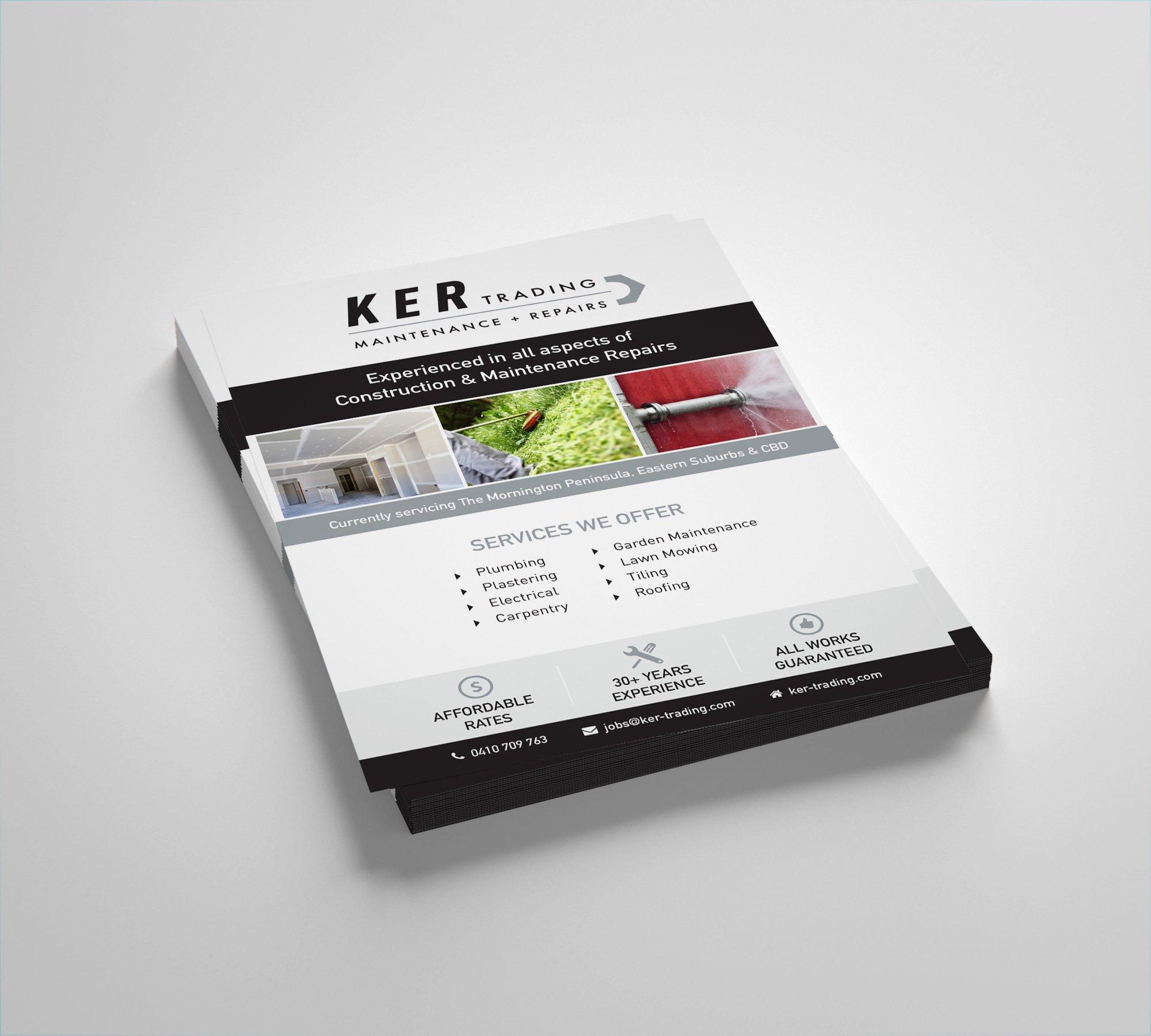 KER Trading flyers