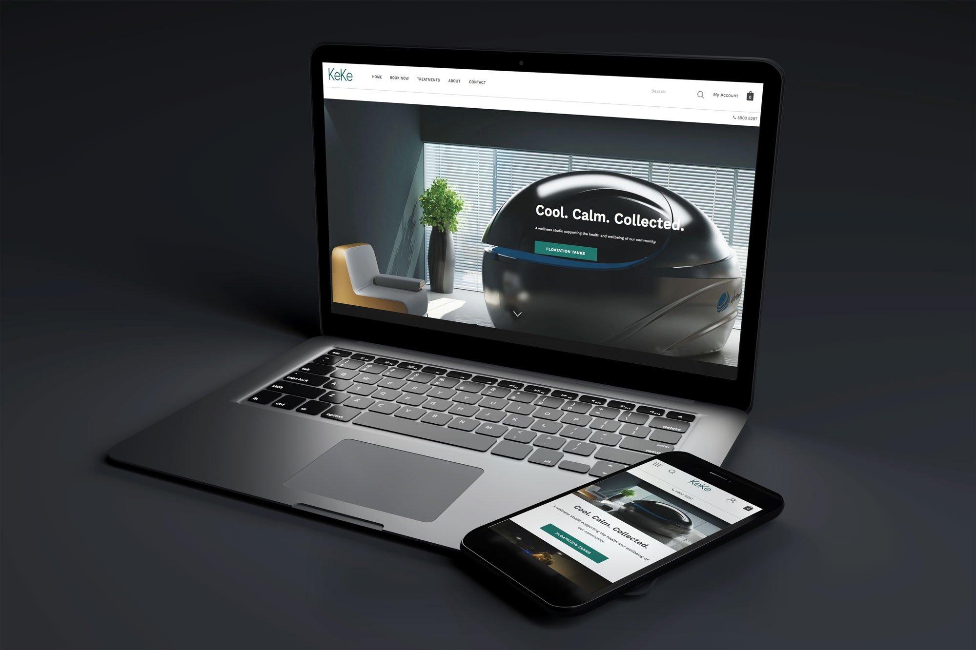 Keke Wellness online booking website
