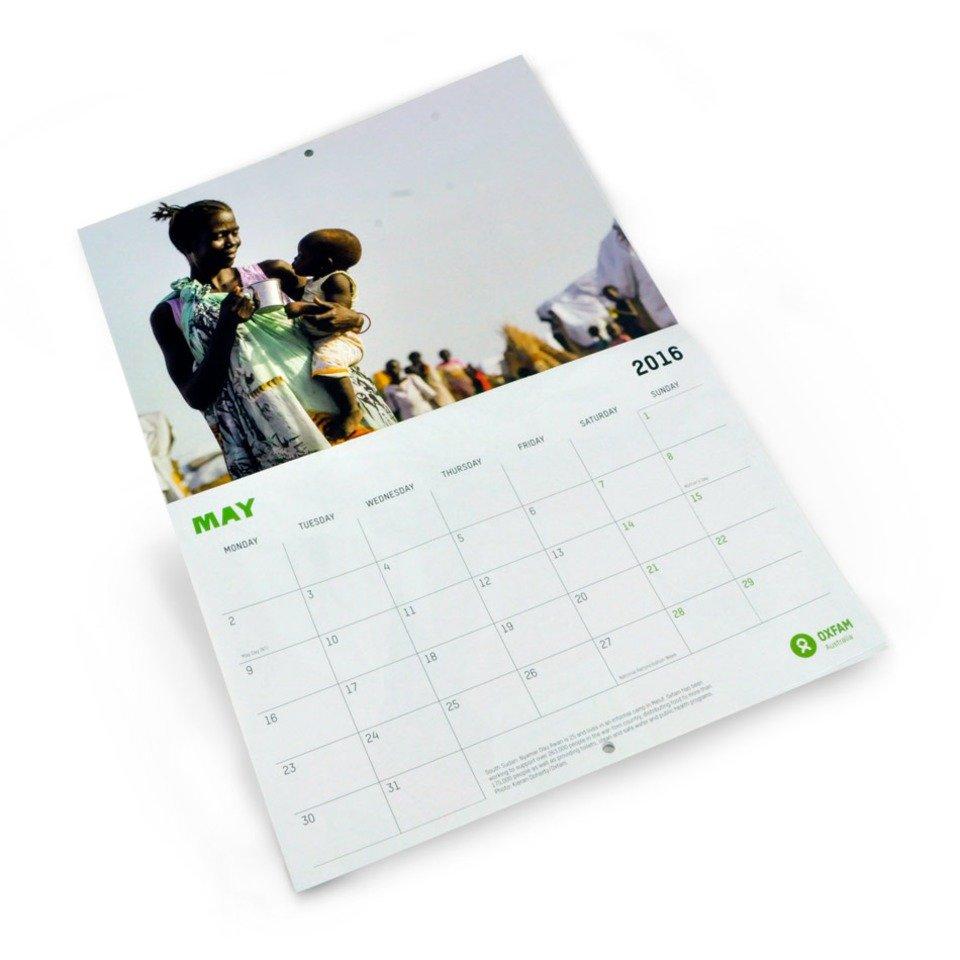 Oxfam Retail graphic design